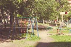 цветастая спортивная площадка оборудования Стоковые Фотографии RF