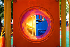 цветастая спортивная площадка смешно Стоковое фото RF