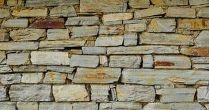 цветастая старая каменная стена текстуры Стоковая Фотография RF