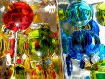 Цветастая стеклянная поверхность Стоковое фото RF
