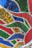 цветастая стеклянная мозаика Стоковые Изображения