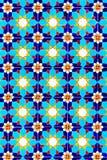 цветастая стена текстуры мозаики Стоковая Фотография RF