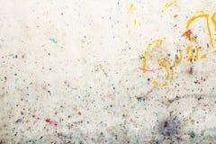 цветастая стена текстуры Стоковые Фотографии RF