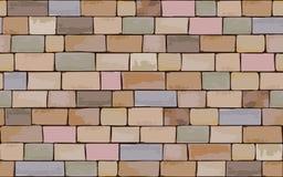 цветастая стена Стоковое Фото