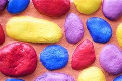 цветастая стена Стоковые Изображения