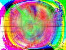 цветастая стена Стоковая Фотография