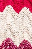 Цветастая счастливая вязать текстура предпосылки. Высокий Knit разрешения Стоковое Изображение