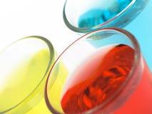 цветастая съемка стекел стоковое изображение