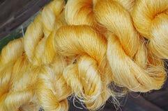 Цветастая сырцовая silk резьба Стоковое Изображение