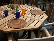 цветастая таблица Стоковая Фотография