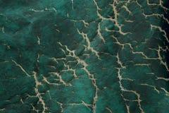 цветастая текстура зеленый цвет треснутый предпосылкой Стоковое Изображение RF