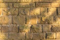 Цветастая текстура каменной стены камень предпосылки естественный Стоковая Фотография RF