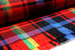 цветастая текстура тканья Стоковые Изображения RF