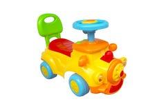 цветастая тележка игрушки Стоковые Изображения RF