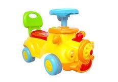 цветастая тележка игрушки Стоковая Фотография