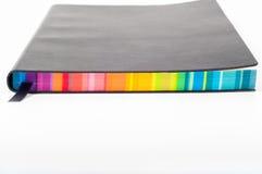 цветастая тетрадь Стоковое Изображение RF