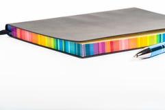 цветастая тетрадь Стоковые Изображения RF