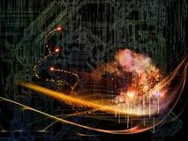 цветастая технология Стоковые Фото