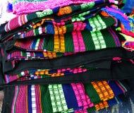 цветастая ткань Стоковые Фотографии RF