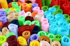 цветастая ткань стоковое фото rf