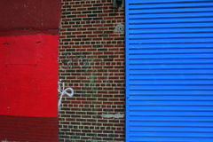 цветастая урбанская стена Стоковые Изображения RF