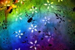 цветастая флористическая бумага Стоковая Фотография RF