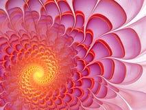 цветастая фракталь цветка Стоковые Фотографии RF