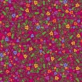 цветастая флористическая картина безшовная Стоковое фото RF