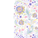 Цветастая флористическая картина Стоковая Фотография