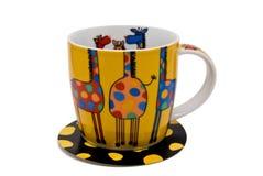 цветастая чашка Стоковое фото RF