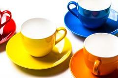 цветастая чашка Стоковые Фотографии RF