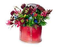 Цветастое абстрактное флористическое расположение Стоковая Фотография