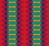 Цветастое геометрическое pattern_12 иллюстрация вектора