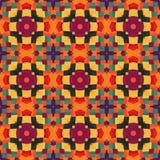 Цветастое геометрическое pattern_10 иллюстрация штока