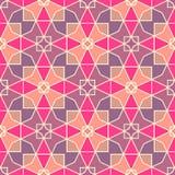Цветастое геометрическое pattern_13 иллюстрация вектора