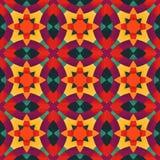 Цветастое геометрическое pattern_7 Стоковое Изображение