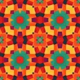 Цветастое геометрическое pattern_8 Стоковая Фотография RF