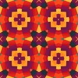 Цветастое геометрическое pattern_9 иллюстрация вектора