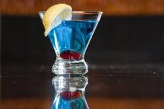Цветастое голубое питье Стоковые Изображения RF