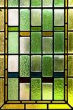 цветастое запятнанное стекло Стоковое Фото