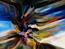 цветастое запятнанное стекло Стоковые Изображения RF