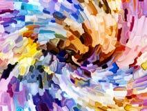 цветастое запятнанное стекло Стоковые Фото