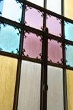 цветастое запятнанное стекло стоковые фотографии rf