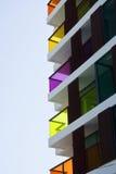 Цветастое здание Стоковые Фото