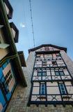 Цветастое здание - Кольмар Tropicale Стоковые Изображения RF