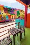 Цветастое здание Стоковая Фотография RF
