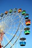 цветастое колесо ferris стоковые изображения rf