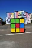 цветастое кубическое Стоковое Изображение RF