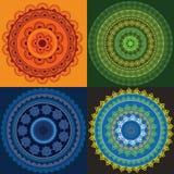 цветастое мандала хны Стоковые Фото