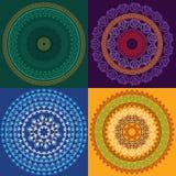 цветастое мандала хны Стоковые Фотографии RF